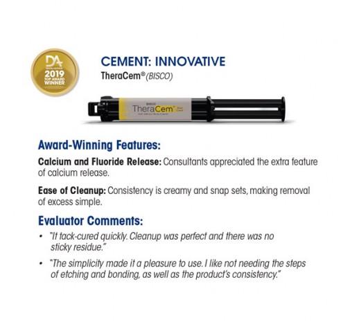 TheraCem-самоадхезивен цимент с калций и флуор