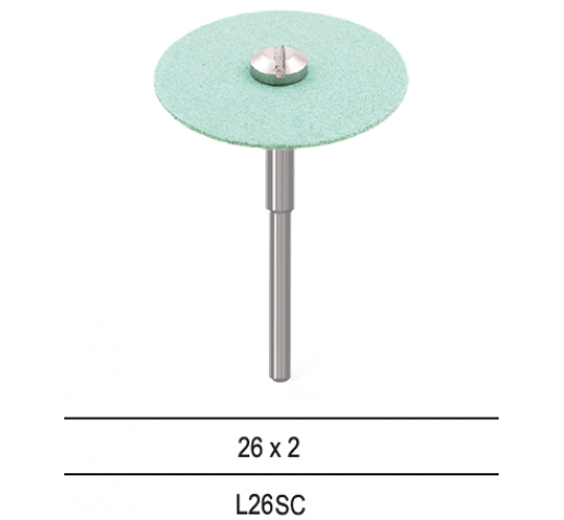 Полирна гума диамантена за цирконий